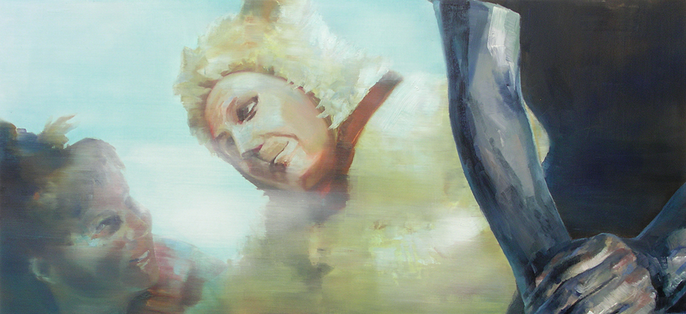 Yksityiskohta taidemaalari Anssi Törrösen teoksesta.