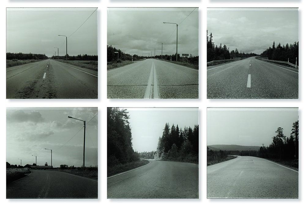 Yksityiskohta valokuvataiteilija Timo Setälän teossarjasta.