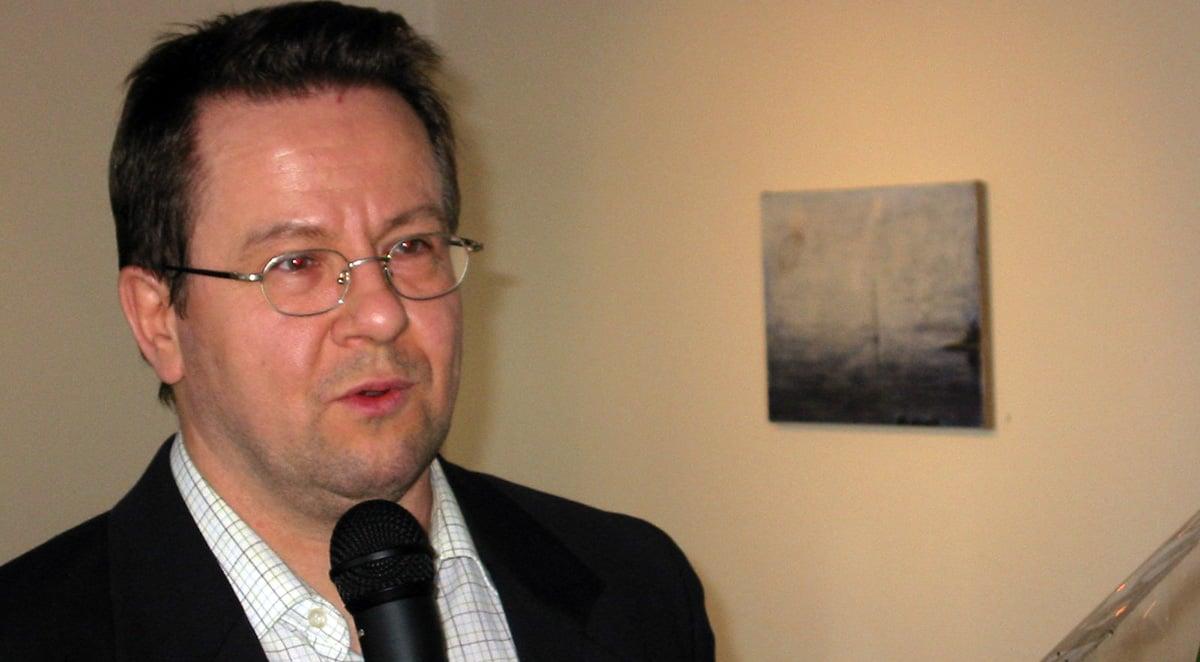 Kuvataiteilija Thomas Nyqvist.