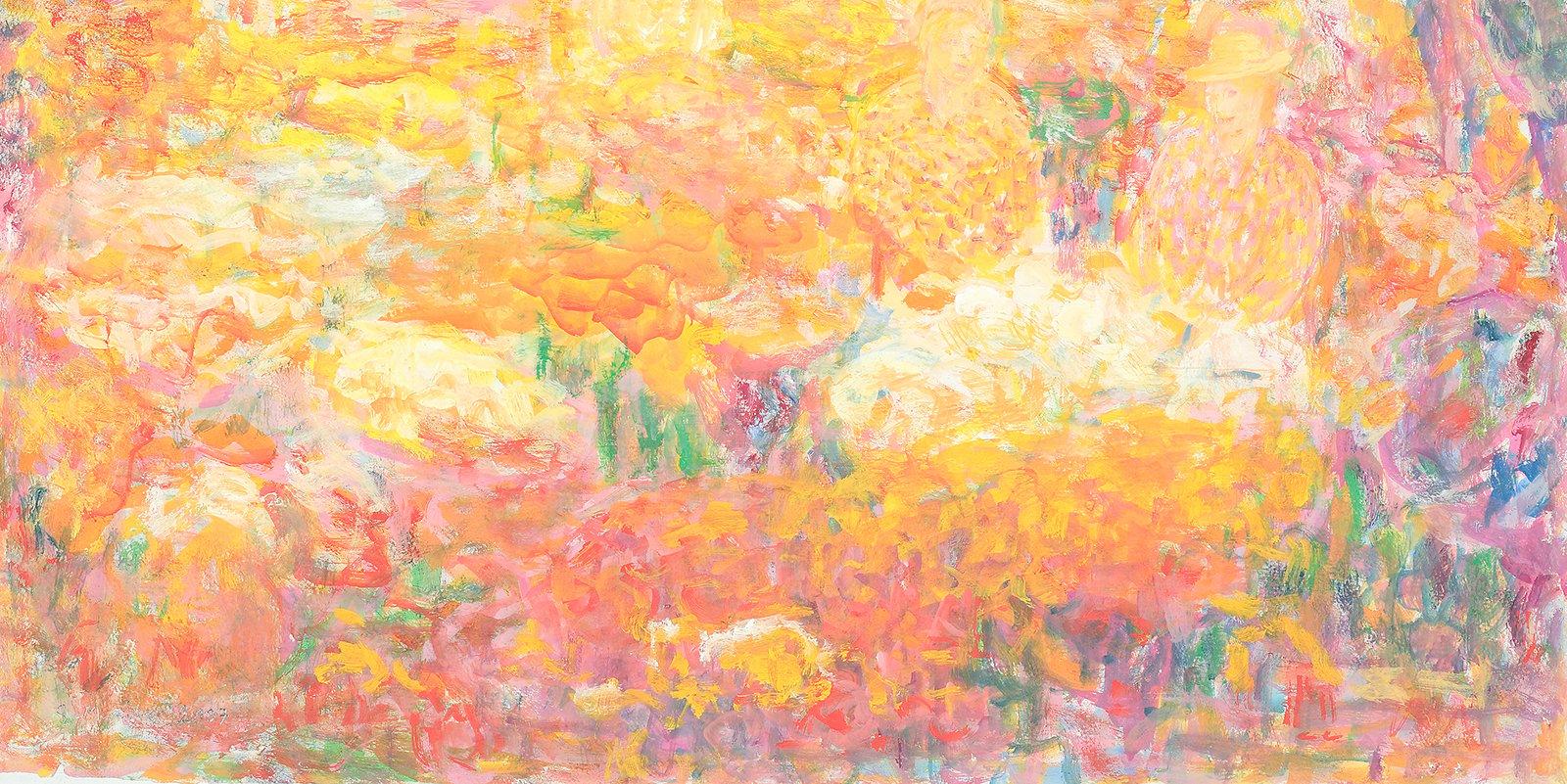 Yksityiskohta taidemaalari Sakari Marilan teoksesta.