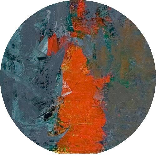 Yksityiskohta taidemaalari Reijo Viljasen teoksesta.