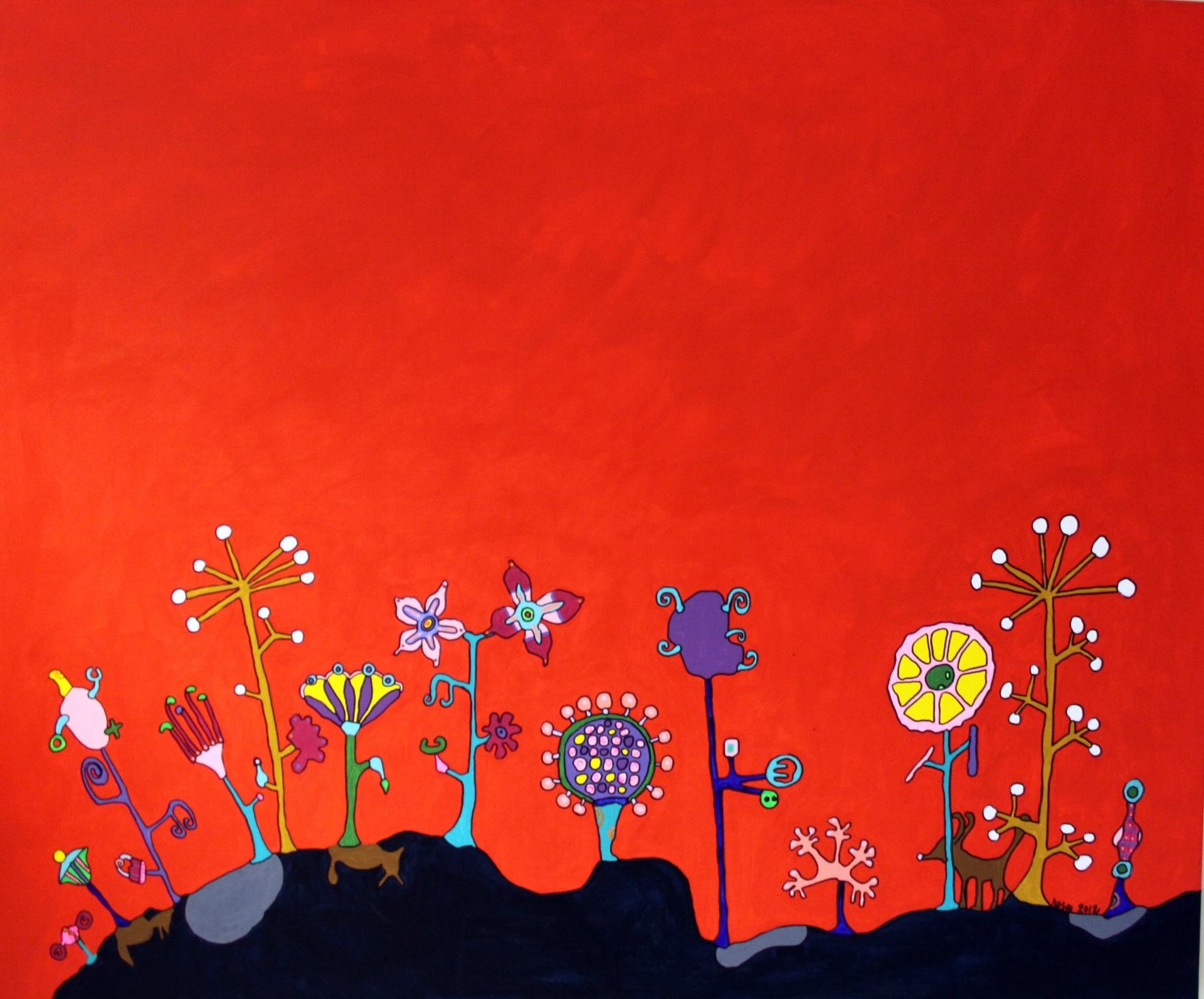 Punainen puutarha